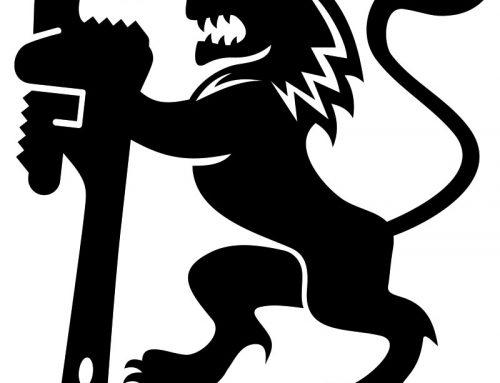 Logo og grafisk identitet – LØVENHARDT VVS